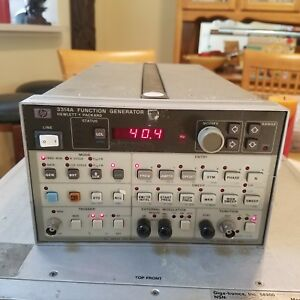 Agilent Hp 3314a Function Generator Working