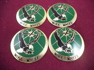La Wire Wheels Green Gold Custom Wheel Metal Chip 4