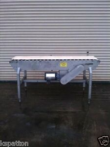20 X 72 L Powered Case Conveyor With 1 Hp Drive