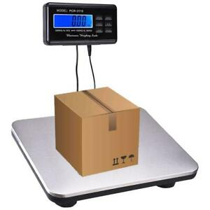 Pcr 3115 Heavy Duty 660 Lb Digital Shipping Mailing Postal Scale 300 Kg Silver