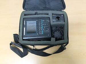 Tektronix Ths730a 200mhz Scope With An Adapter Battery Charger