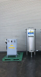 Hess H25 Ozone System With T 150 Gallon Ss Ozone Tank