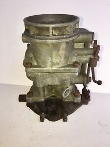 Ford Script V8 94 Carburetor Model Eab Passenger Holley 1949 1951 Flathead 2bl