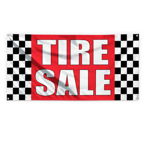 Tire Sale 1 Outdoor Advertising Printing Vinyl Banner Sign With Grommets