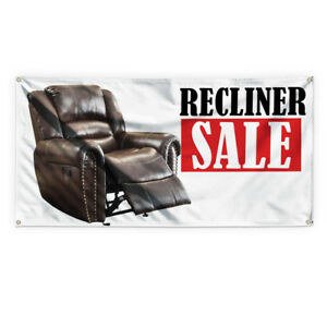 Recliner Sale 1 Outdoor Advertising Printing Vinyl Banner Sign With Grommets