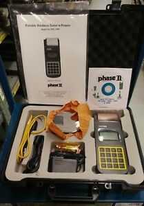 Phase Ii Pht 3500 Portable Hardness Tester New