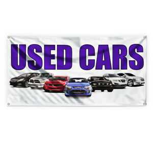 Used Cars 1 Outdoor Advertising Printing Vinyl Banner Sign With Grommets