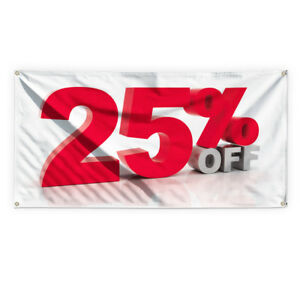 25 Off Outdoor Advertising Printing Vinyl Banner Sign With Grommets