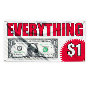 Everything 1 Outdoor Advertising Printing Vinyl Banner Sign With Grommets