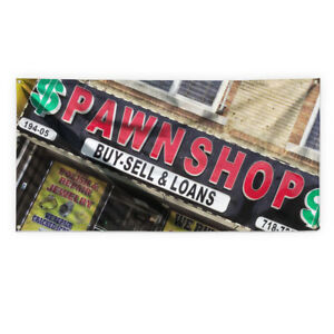 Pawn Shop 2 Outdoor Advertising Printing Vinyl Banner Sign With Grommets