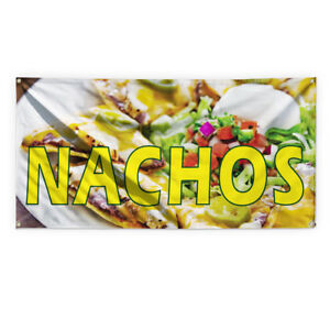 Nachos 1 Outdoor Advertising Printing Vinyl Banner Sign With Grommets