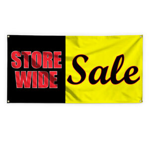 Store Wide Sale 1 Advertising Printing Vinyl Banner Sign With Grommets