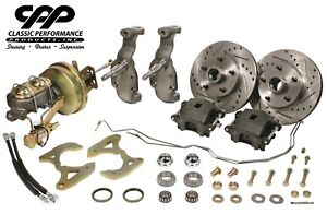 1955 57 Chevy Belair 2 Lowering Drop Spindle Complete Disc Brake Conversion Kit