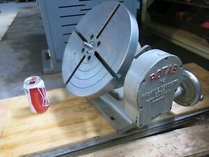 Rotab 12 Precision Tilting Rotary Table For Milling Or Inspection Work