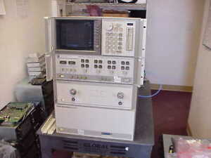 Hp agilent 8510c Hp 85107b Vector Network Analyzer 45mhz To 50ghz With Opt 10