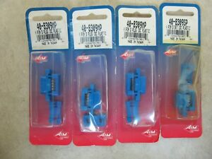 Lot Of 4 Aim 9 pin D sub Connector Plastic Male 40 8309mp Female 40 8309sp