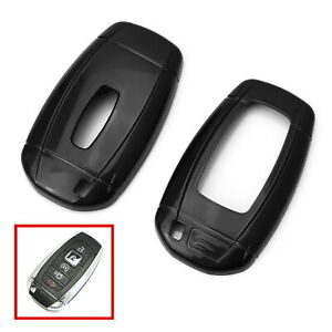 Glossy Black Key Fob Shell Cover For 18 up Lincoln Mkz Mkc Navigator Continental