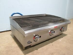 star Max Hd Commercial nsf Lp or Nat Gas 36 Radiant Char Broiler grill