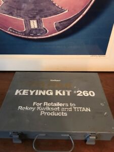Vintage Kwikset Titan Combination Service And Keying Kit No 270