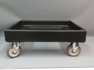 Cambro Camdolly Cart Model Cd300 Black 19x26 New In Box
