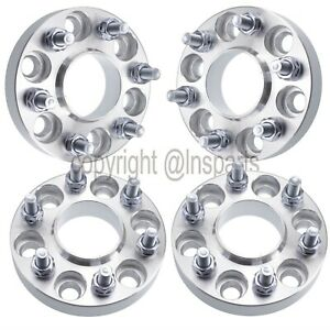 4x 1 25mm 6x4 5 6x114 3 Wheel Spacers Hub Centric Fits Nissan Frontier 6 Lug