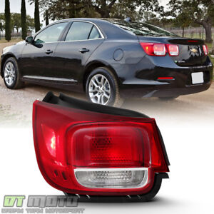 New 2013 2015 Chevy Malibu Non Led Tail Light Brake Lamp Outer Driver Side Left