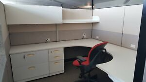 Used Office Cubicles Steelcase Answer 8x8 Cubicles