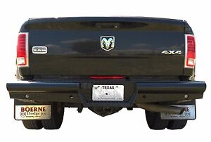 New Ranch Style Rear Bumper 2010 2018 Dodge Ram 2500 3500