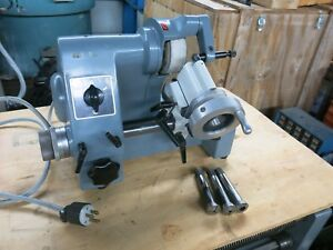 Kuhlmann Deckel Type Single Lip Cutter Grinder 115v 1 Phase Made In Germany