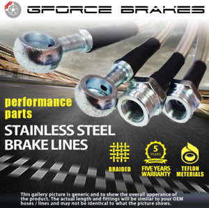 Stainless Steel Brake Lines For 98 05 Vw Golf 4 Jetta 4 Beetle Total 6 Lines