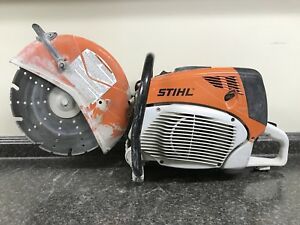 Stihl Ts700 14 Gas Powered Cutquick Concrete Cut off Saw W blade H302545300