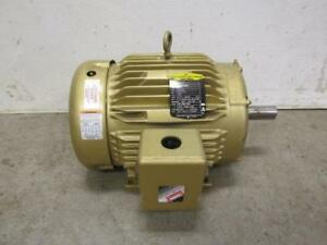 Baldor Super e em3771t Electric Motor 10 Hp 230 460 Volt 3490 Rpm 3 Ph Phase
