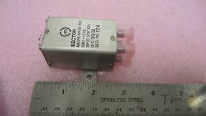 Sector Microwave Sm7 1215 Coaxial Coax Switch New Sma Connectors Sp3t