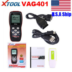 Usa Ship Xtool Vag401 Obdii Oil Reset Srs System Rest Diagnostic Tool Free Tax