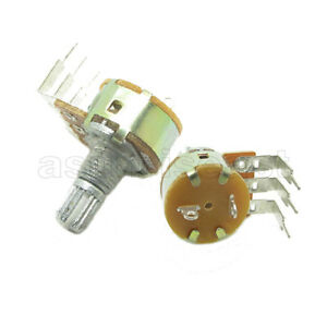 500 X 100k Linear 1 4w Rotary Potentiometer Single Turn B100k With Switch O