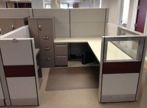 Used Office Cubicles Herman Miller Ethospace 7x7 Cubicles