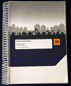 Jcb 520 Le Loadall Owner s Parts Manual new 9800 7824 Issue 15