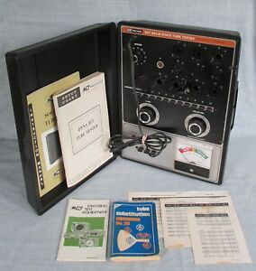 B K Dynascan 667 Solid State Tube Tester Manuals Tube Substitution Book 20