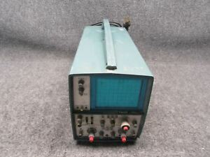 Tektronix Model T935 35mhz Portable Analog Oscilloscope tested Working