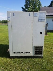 Ingersoll Rand Ssr Air Center 50hp Rotary Screw Compressor Ssr ep50se
