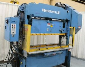 40 Ton Rousselle Straight Side Double Crank Press Stock 63228