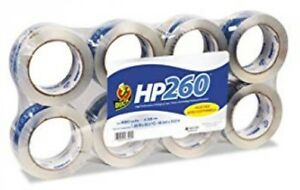Duck 0007424 Carton Sealing Tape 1 88 X 60 Yards 3 Core Clear 8 pack
