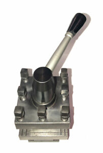 Nice 3 Square 45 Indexing Turret Tool Post For 1 Shank Tools