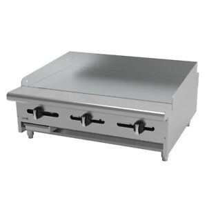 Asber Aemg 36 36 Countertop Manual Gas Griddle