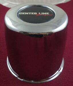Center Line Wheels Chrome Custom Wheel Center Cap 1