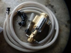 Goldstream Monster Wvo Svo Wmo Pump With Hoses And 600 Micron Filter