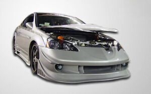 Duraflex Vader Front Bumper Cover 1 Piece For 2002 2004 Acura Rsx