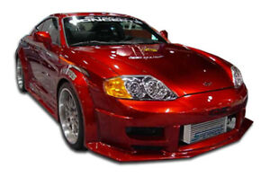 Duraflex Poison Flared Front Bumper Cover For 2003 2006 Tiburon