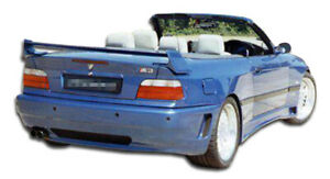 Duraflex Type Z Wide Body Rear Bumper For 1992 1998 3 Series M3 E36 2dr