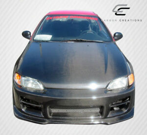 Carbon Creations Oem Hood 1 Piece For 1992 1995 Honda Civic 2dr Hb